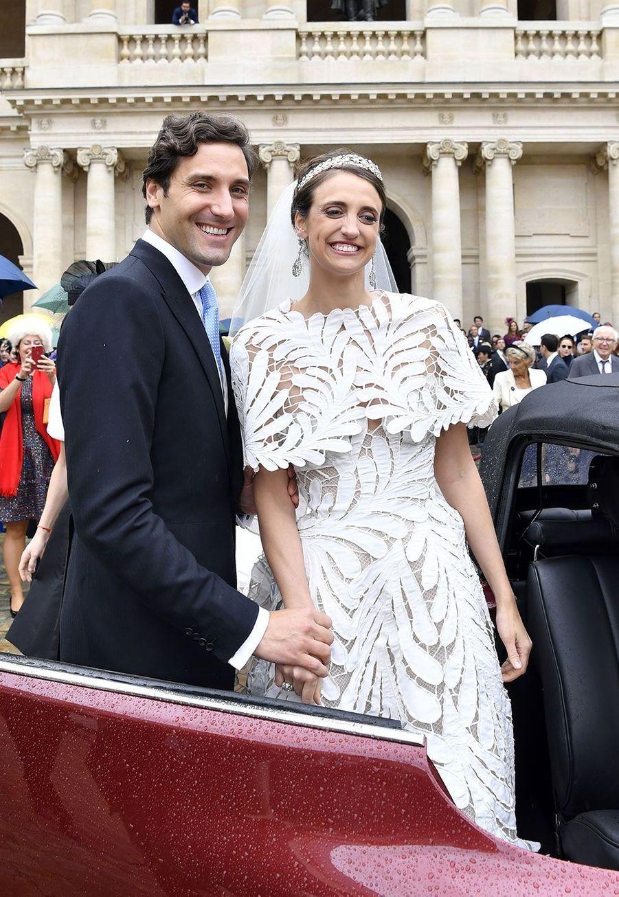 Le prince Jean-Christophe Napoléon et son épouseOlympia d'Arco Zinneberg