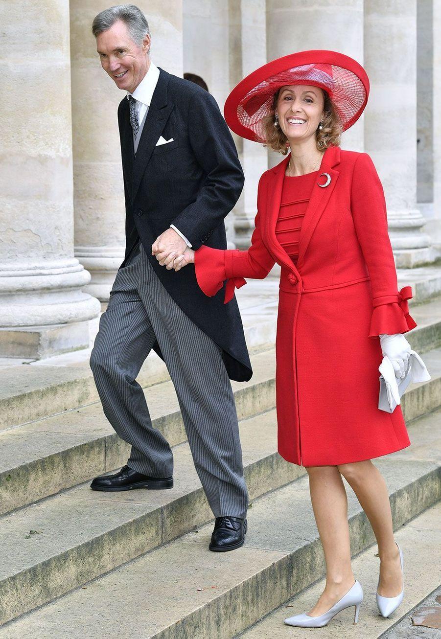 Guillaume de Luxembourg et son épouseSybillaWeiller