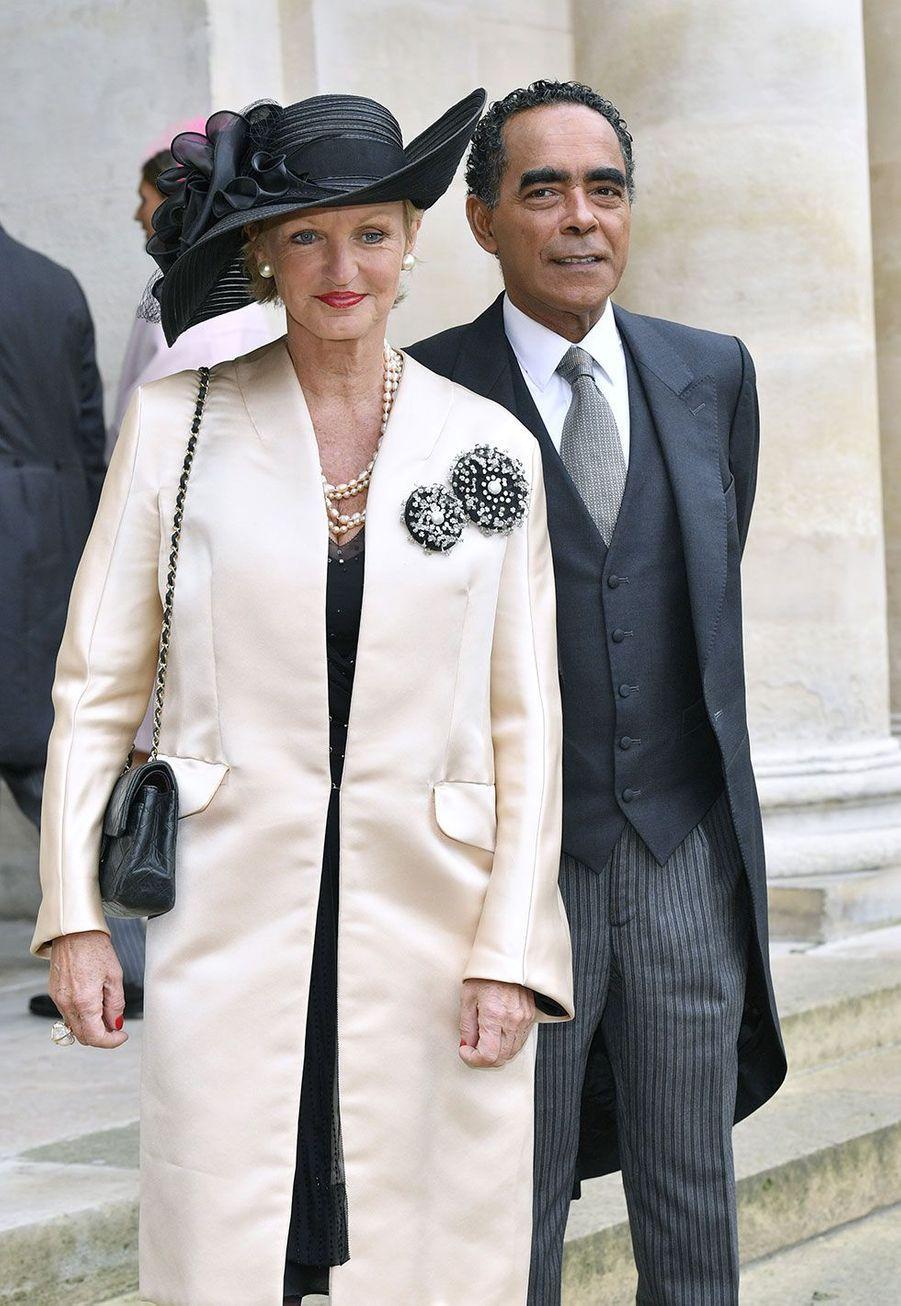 La princesseAnne de Bourbon-Siciles etAlexandre Ursulet
