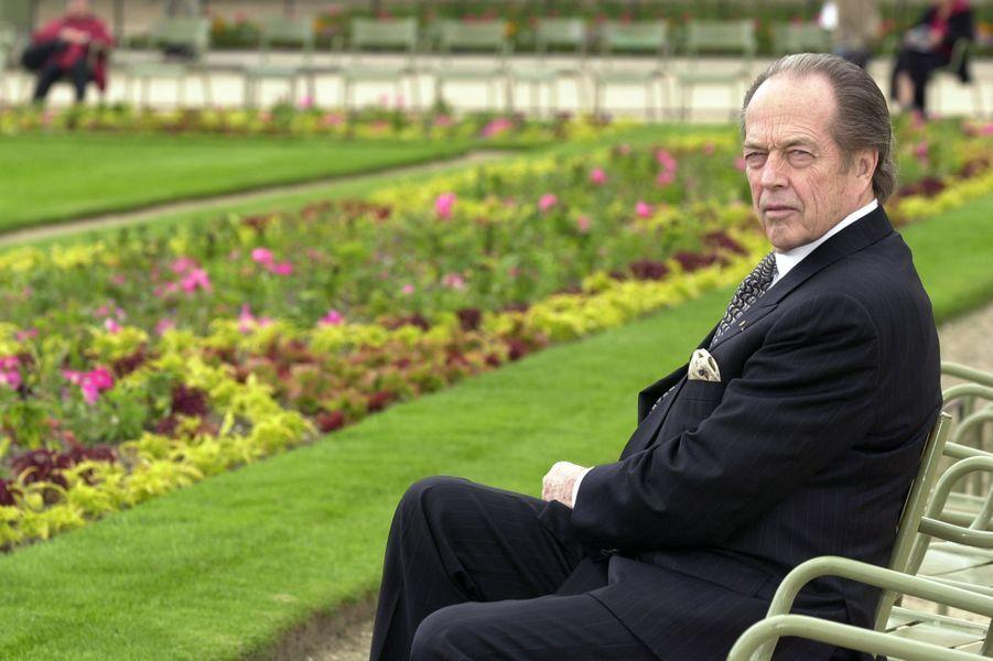 Henri d'Orléans, comte de Paris, le 10 juin 2002