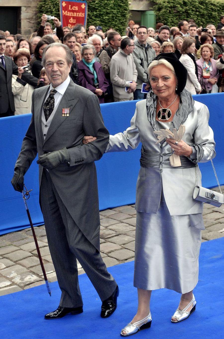 Henri d'Orléans, comte de Paris, et sa femme Micaela, le 2 mai 2009