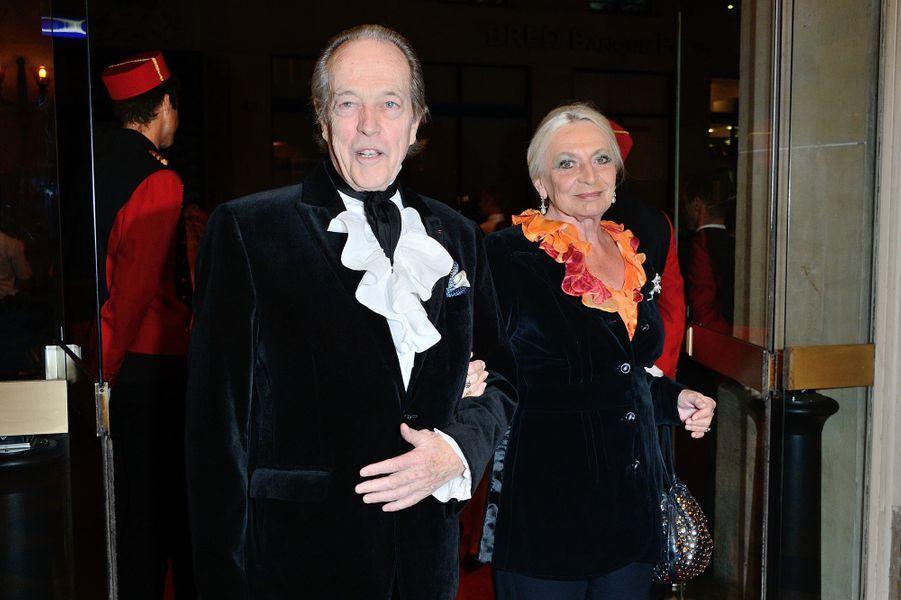 Henri d'Orléans, comte de Paris, et sa femme Micaela, le 23 septembre 2013
