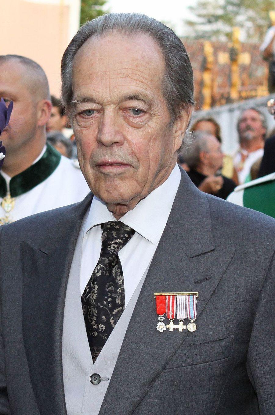 Henri d'Orléans, comte de Paris, le 26 septembre 2009