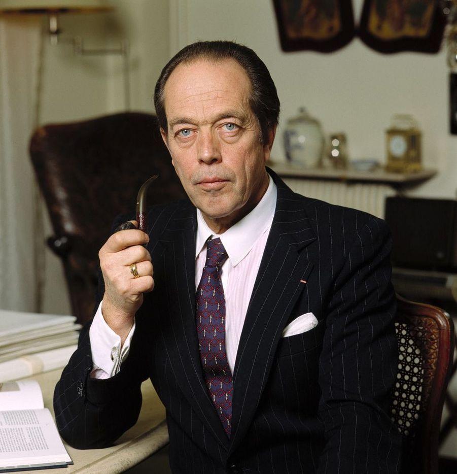 Henri d'Orléans, le 1er décembre 1989