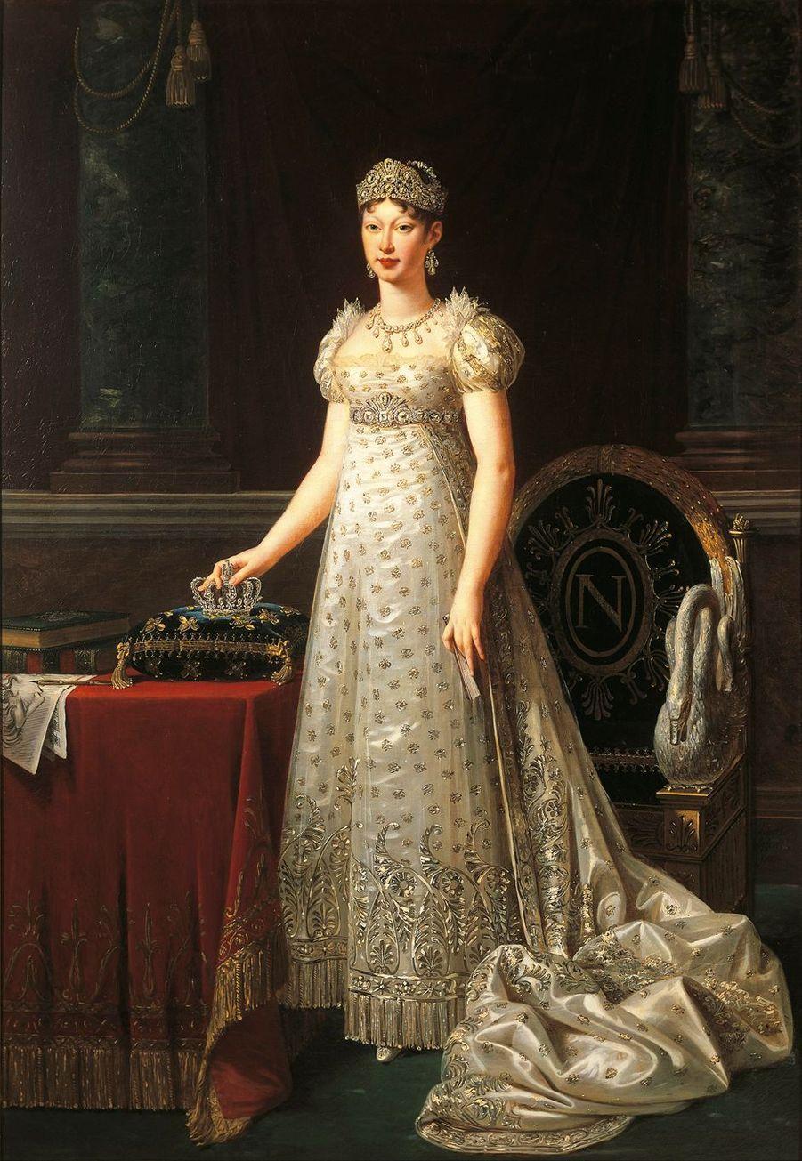 Portrait de l'impératrice Marie-Louise, par Robert Lefèvre