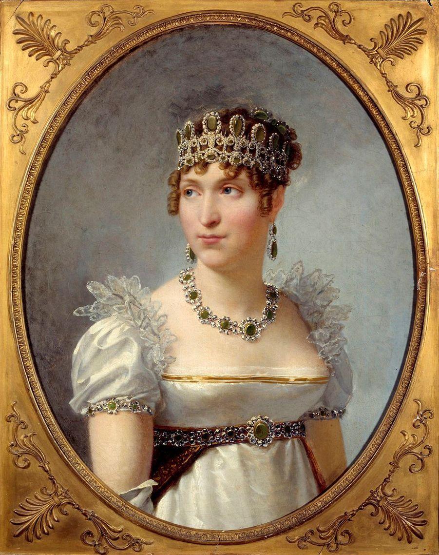 Portrait d'Hortense de Beauharnais par Jean-Baptiste Regnault, 1810 (Château de Malmaison)