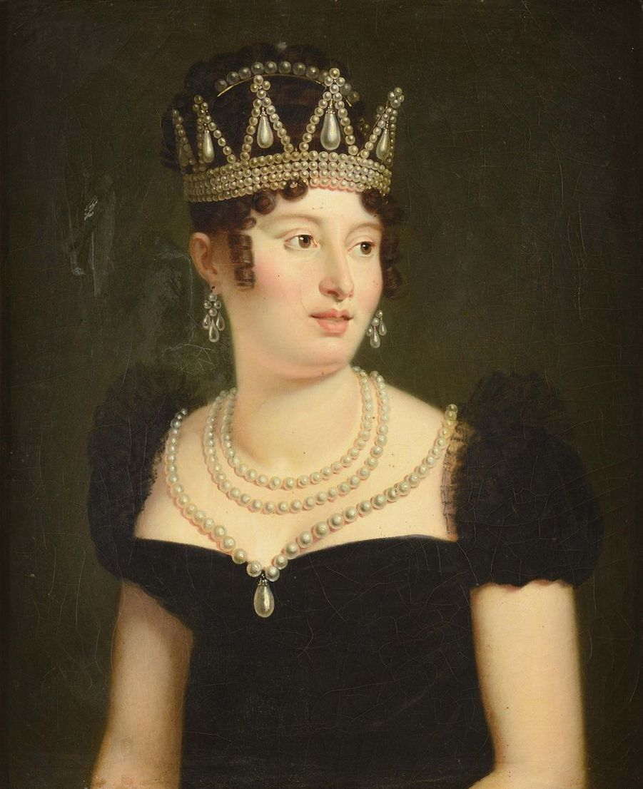 Portrait de Caroline Bonaparte (Collection privée)