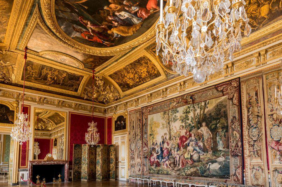 L'antichambre du Grand Couvert au château de Versailles, le 17 avril 2019