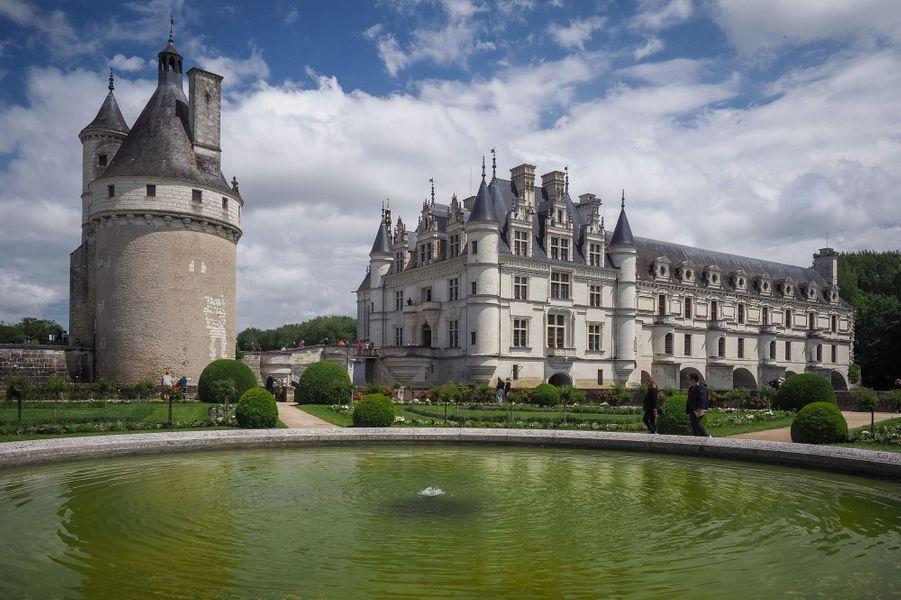 Le château de Chenonceau, le 13 juin 2019