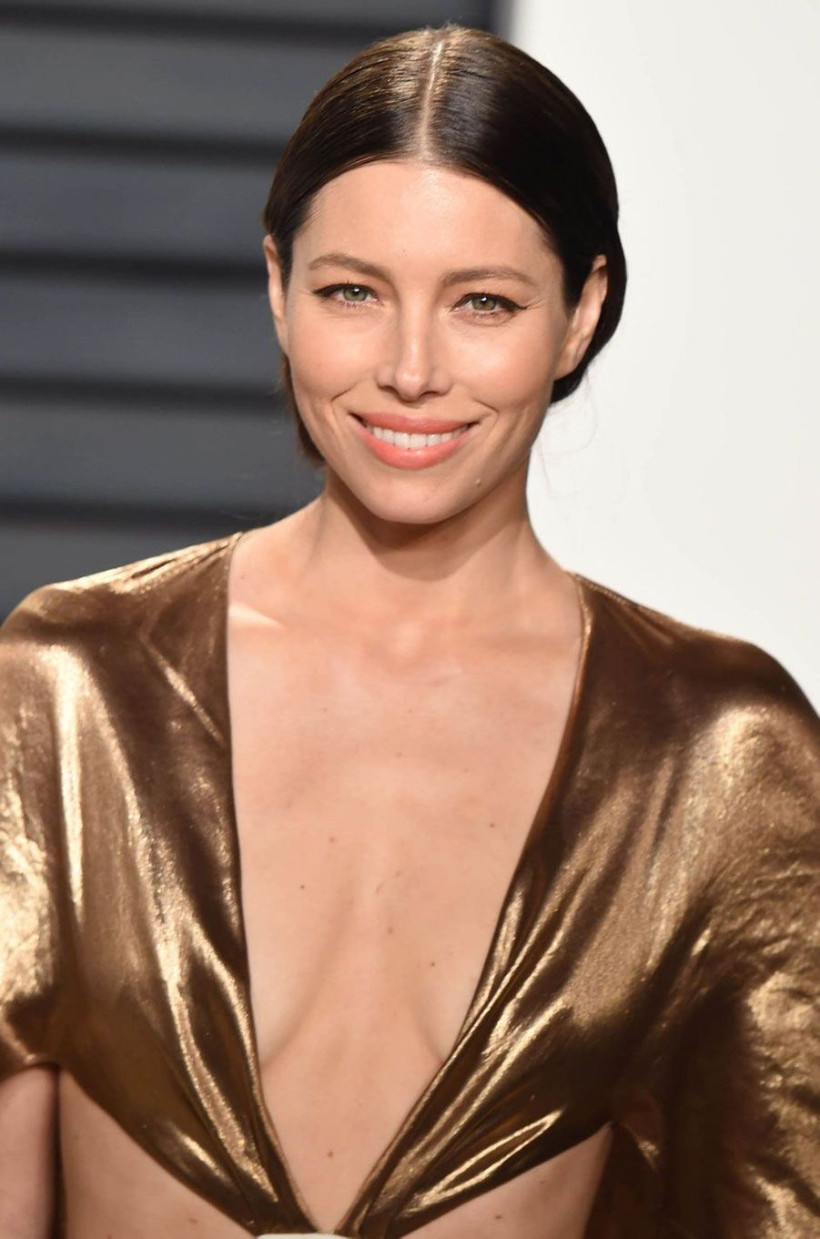 Jessica Biel à la soirée Vanity Fair après la cérémonie des Oscars.