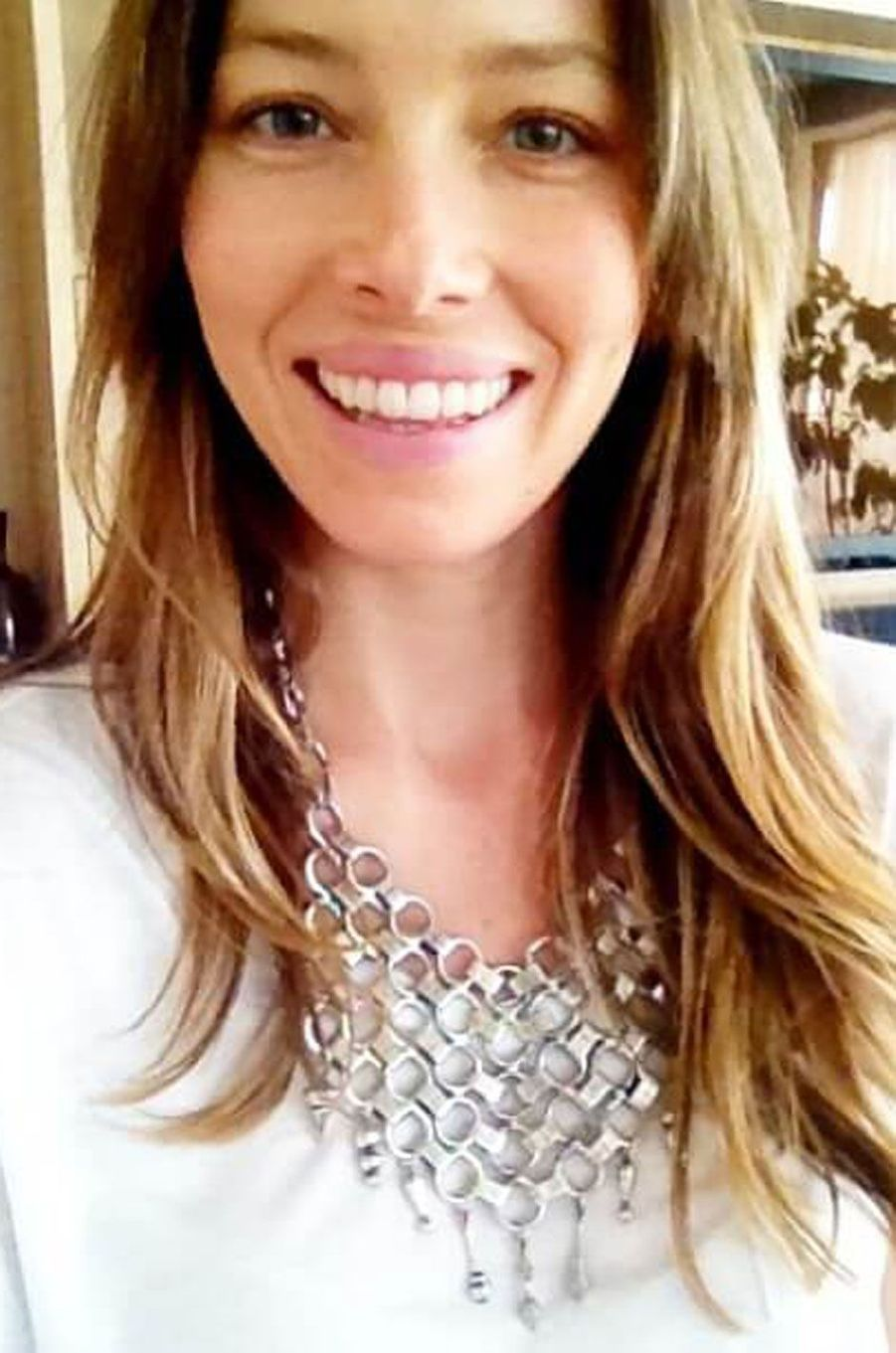 Jessica Biel sans maquillage.