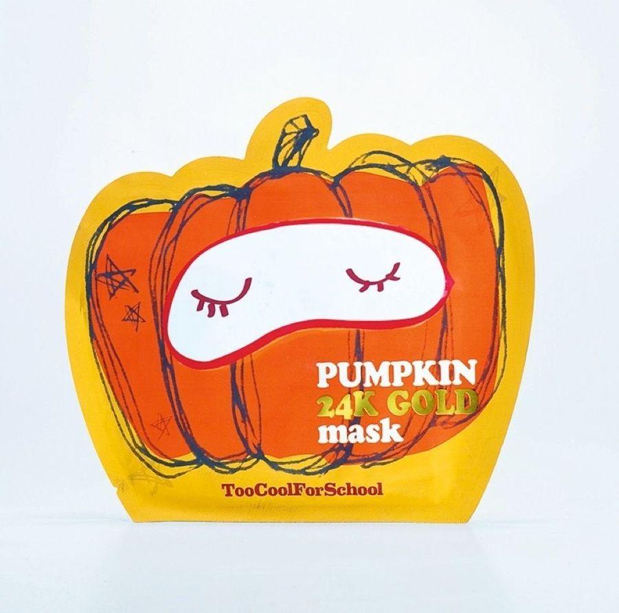 Un régal pour les peaux ternes et affamées. Pumpkin 24k Gold masque visage aux extraits de citrouille et d'or 24 carats, 50 ml, 5,90 € (en exclusivité chez Sephora).