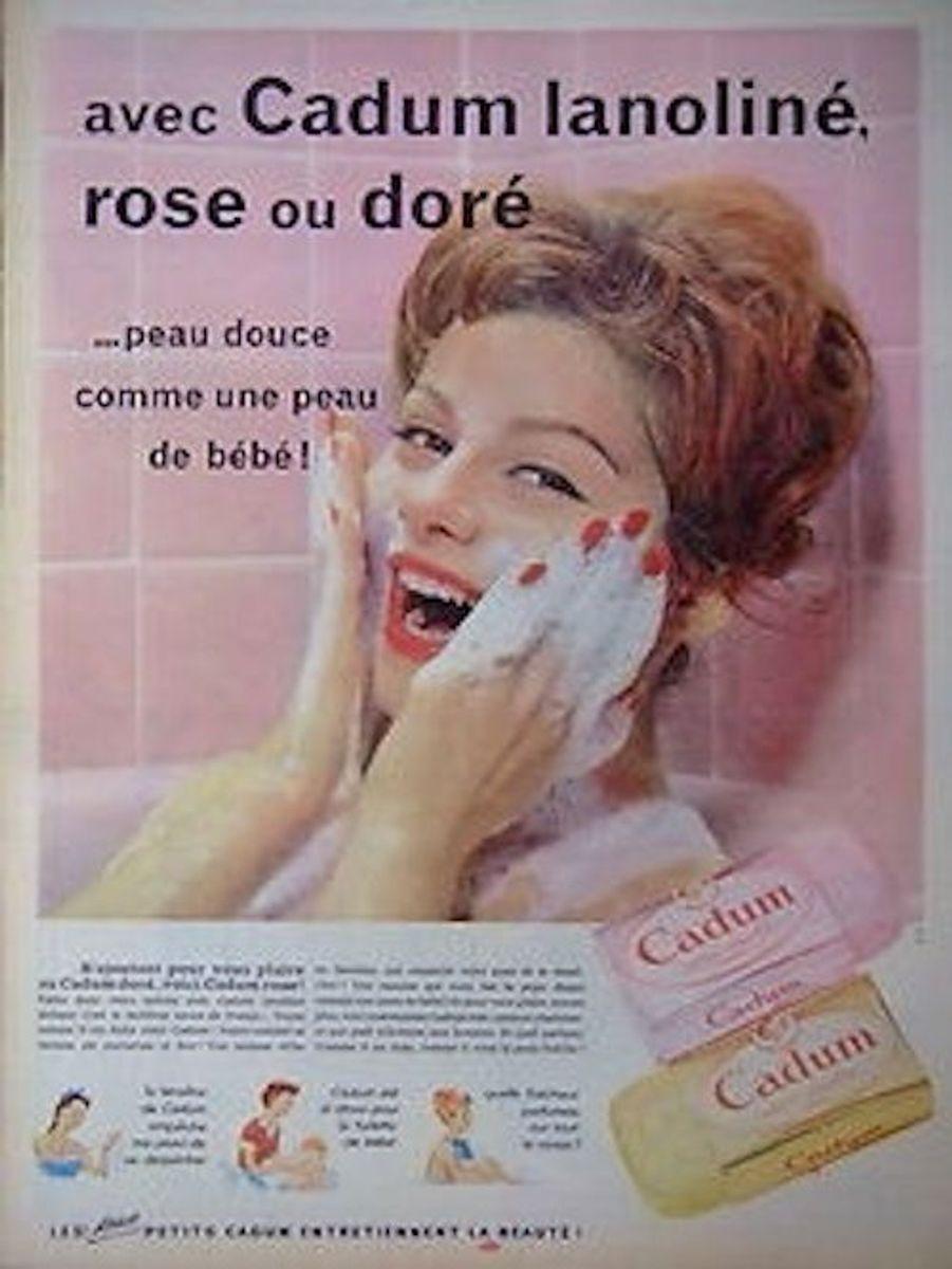 La douceur des savons Cadum a révolutionné le quotidien des bébés et de la famille.