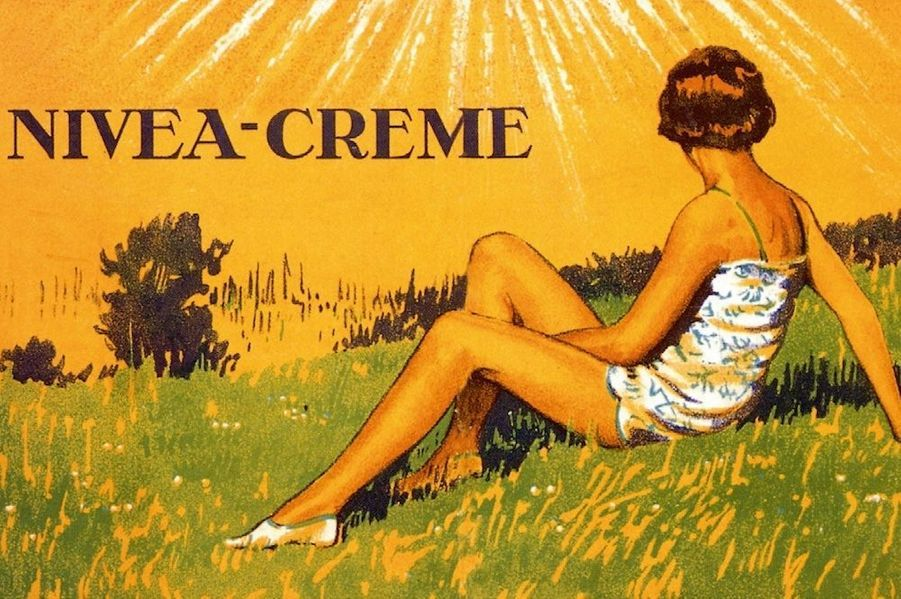 Promesse d'une peau saine et bien protégée, la crème Nivea est apparue en 1911.