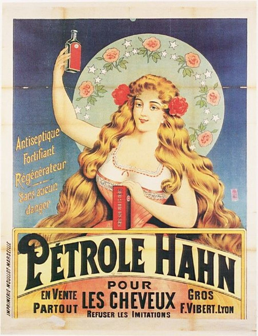 Au rayon capillaire aussi, on a des souvenirs, avec le fortifiant Pétrole Hahn.