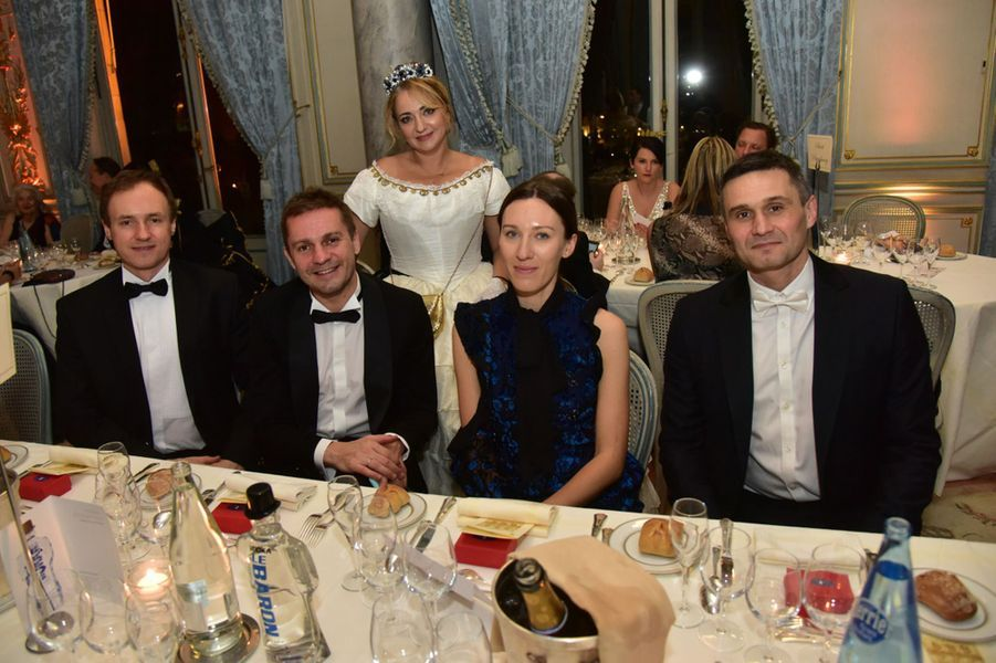 Alexeï Micheev, Michail et Marina Makarova, Sebastien Pinard aubal des Tsars et des Tsarines.