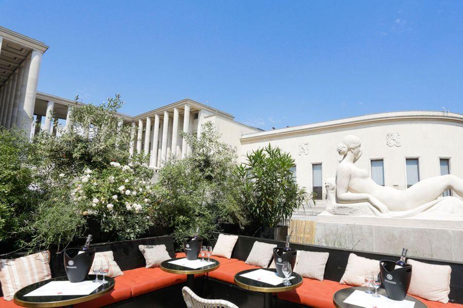 La terrasse Peyrassol chez Monsieur Bleu, à Paris