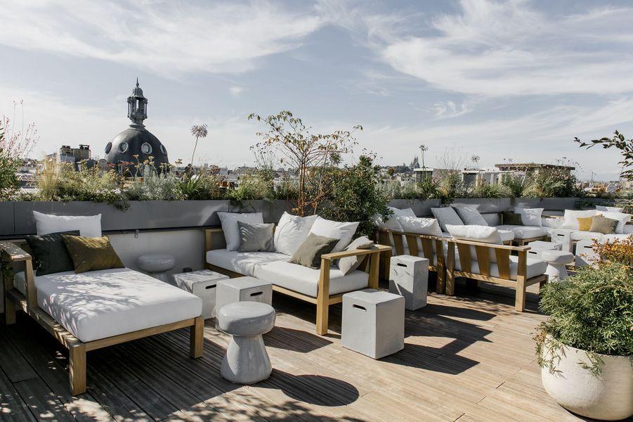 Le rooftop de l'hôtel National