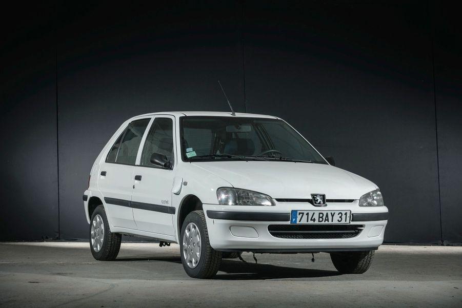 Peugeot 106 Electric (2001) : écolo avant l'heure.