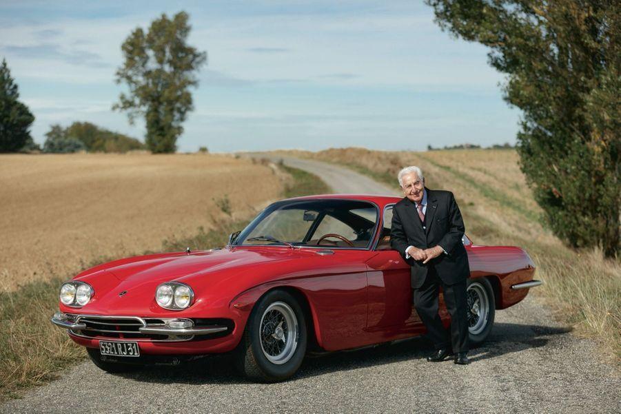 Star de la vente, cette Lamborghini 400 GT, achetée neuve en 1967 par André Trigano, fait partie des 247exemplaires produits.