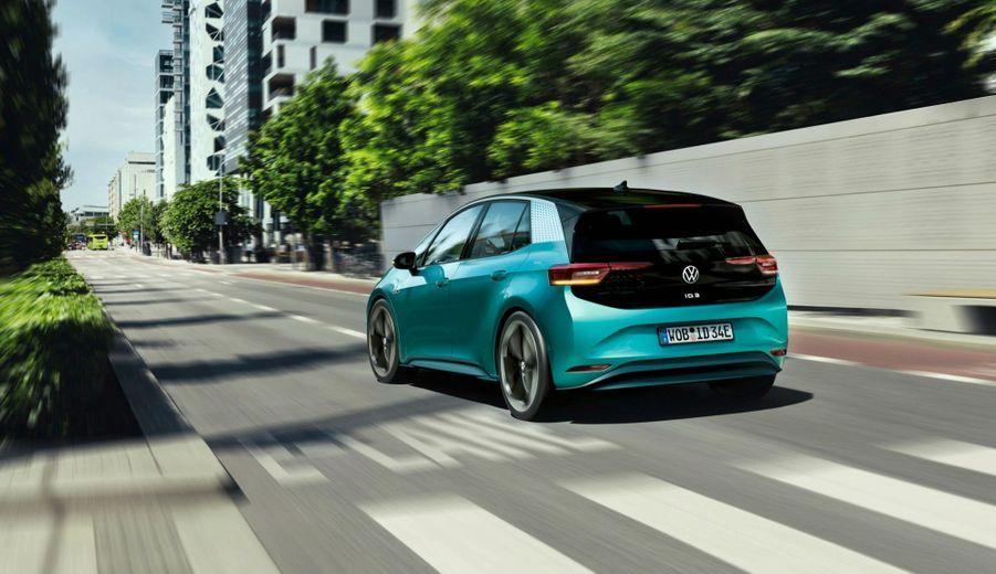 L'ID.3 est la première Volkswagen conçue sur la nouvelle plateforme 100 % électrique.