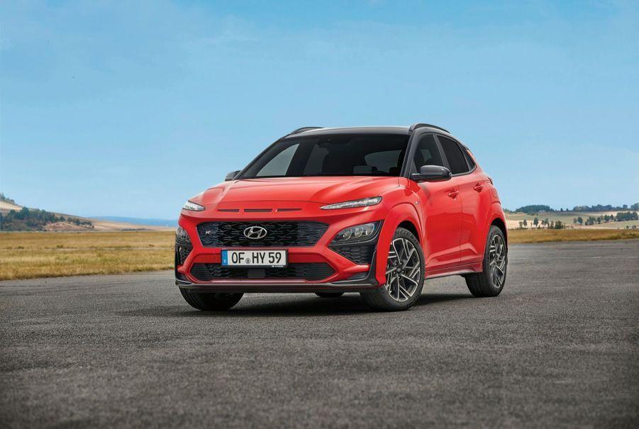 La Hyundai Kona est le seul modèle du marché disponible en quatre versions électrifiées.