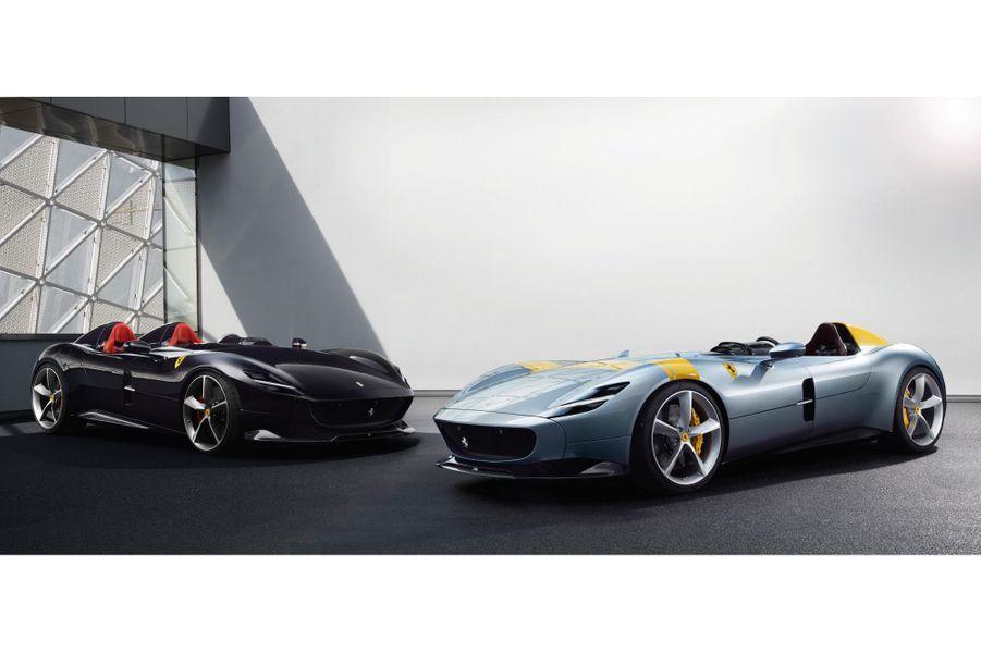 Les Ferrari Monza SP1 & SP2