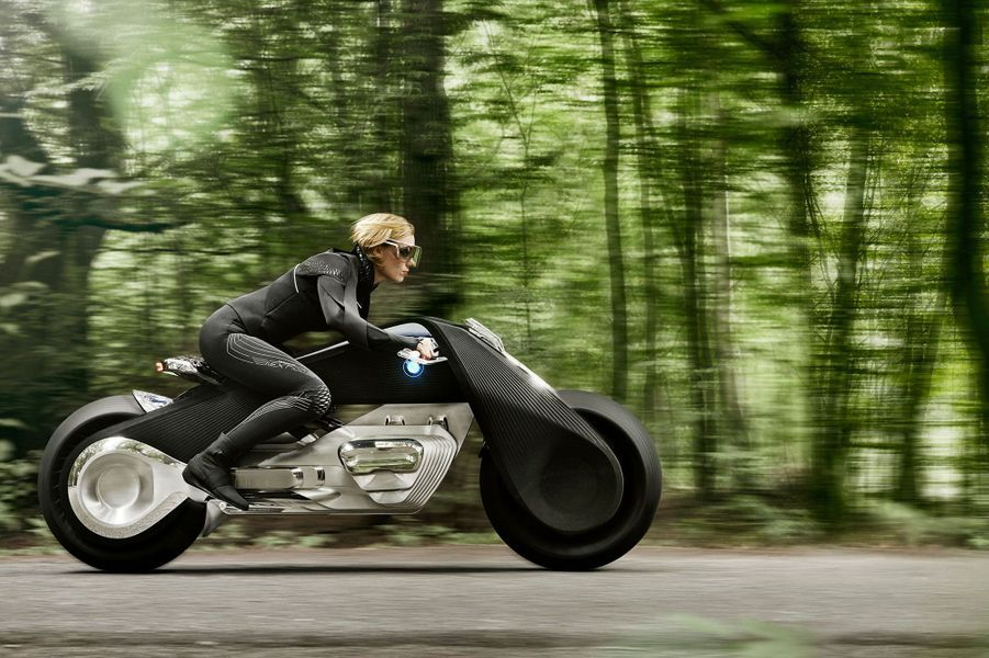 BMW dévoile sa moto du futur