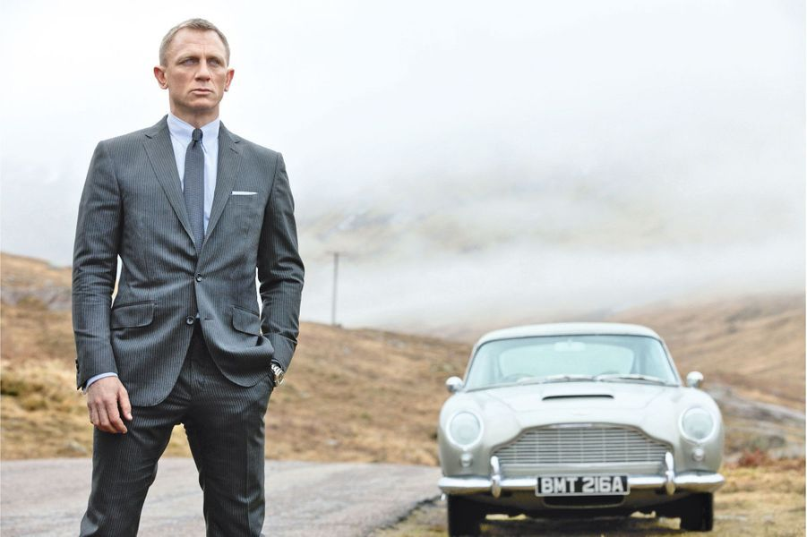 DB5 l' Aston de l'agent 007