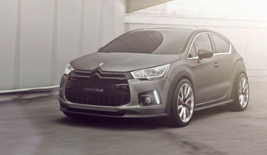 Jante extra-larges, ouïes béantes: la DS4R annonce la couleur. Avec un 1.6 turbo essence de 256 chevaux, la Citroën affiche un rendement record pour une voiture de série: 160 ch/L. Tout cela dans un relatif respect de l'environnement, puisque ce bloc ne rejette que 155 g de CO2/km.