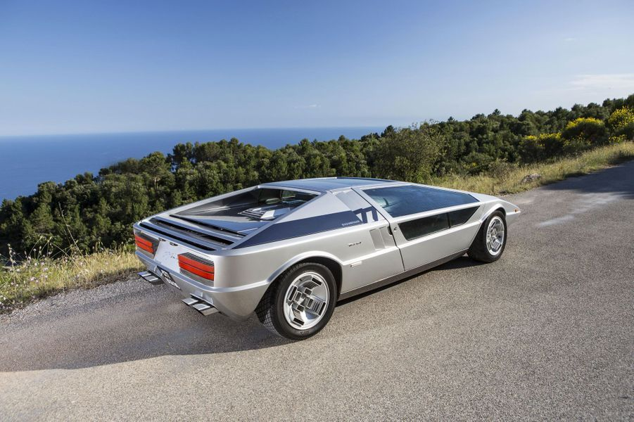 La Maserati Boomerang