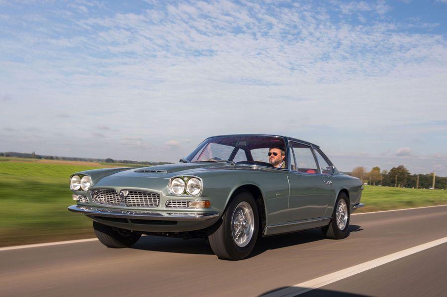 Une Maserati Mexico 4,7 litres de 1968