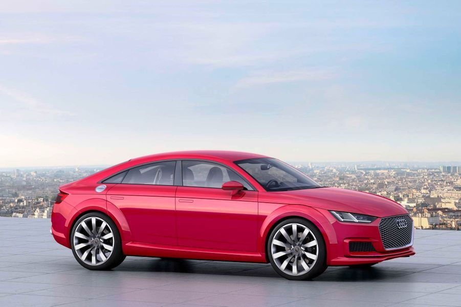 Audi TT Sportback, la surprise des Anneaux