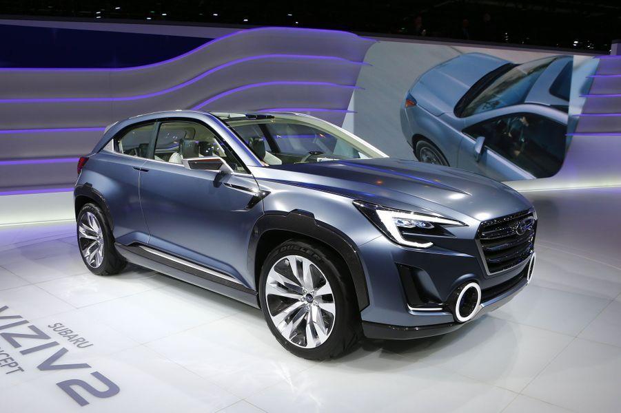Revigoré par les Abenomics, ces politiques favorables aux exportations menées par le gouvernement japonais de Shinzo Abe, Subaru est en forme. Ce concept Viziv 2, plutôt réussi, laisse entrevoir le prochain SUV de la marque, un modèle crucial.