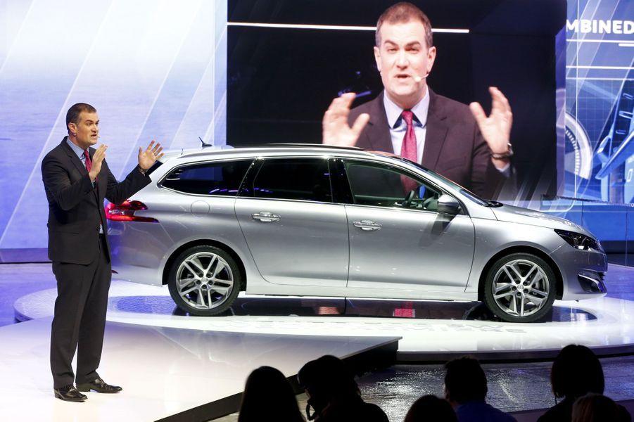 Voici la version break de la Peugeot 308, tout juste élue voiture de l'année.