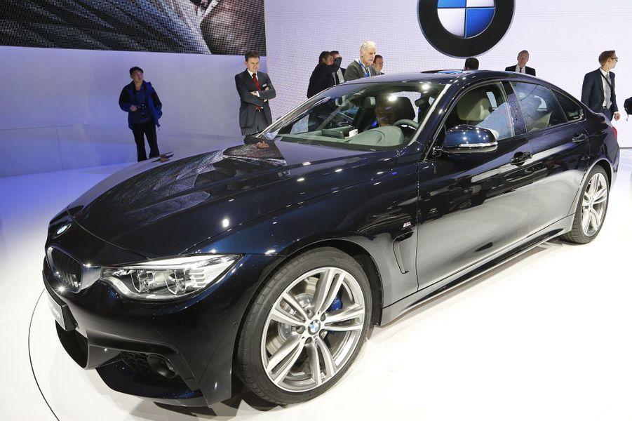Plus élégante que la Série 3, cette BMW Série 4 Gran Coupé se place au dessus dans la gamme du constructeur allemand.