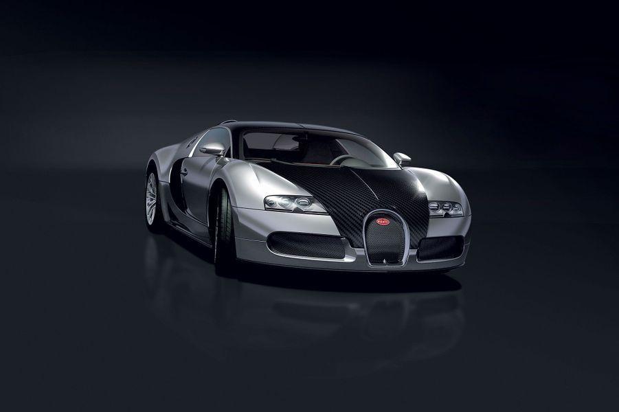 Les images diffusées en 2007 par Bugatti