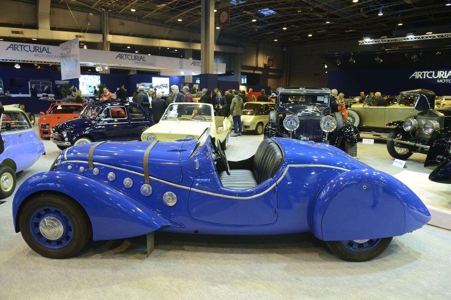 La superbe Peugeot 402 Darl'Mat de 1937.