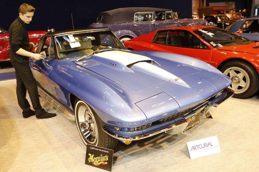 La Corvette Stingray de 1967 n'a rien perdu de son charme.