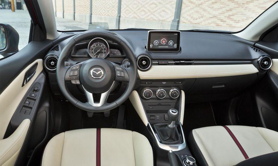 A bord de la nouvelle Mazda2