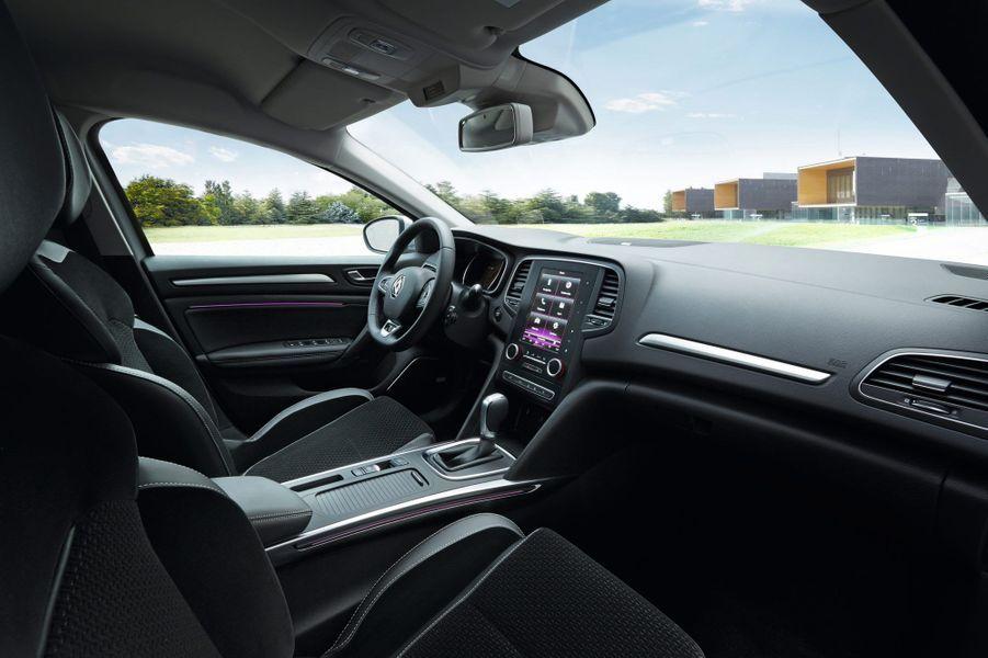 A bord de la Renault Mégane
