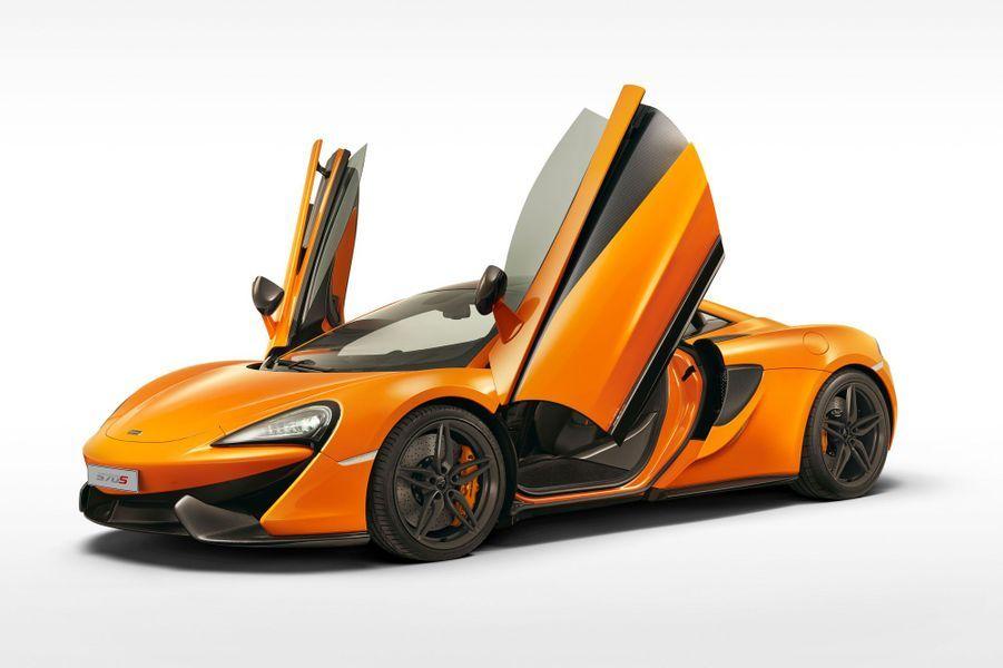 McLaren 570S : 0 à 200 km/h en 9,5 secondes