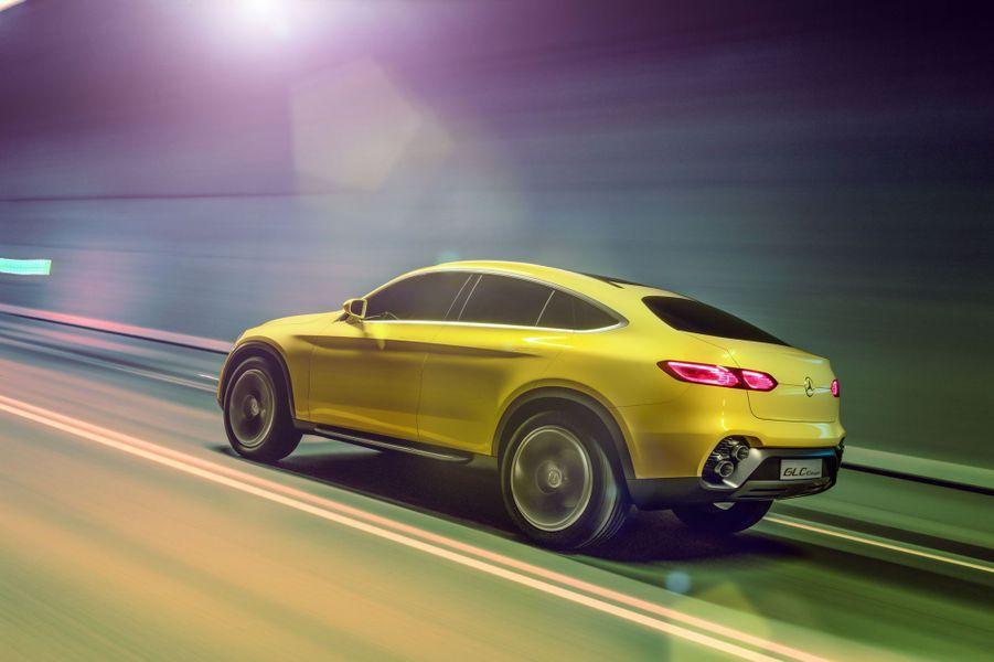 Mercedes Concept GLC Coupé, le petit frère