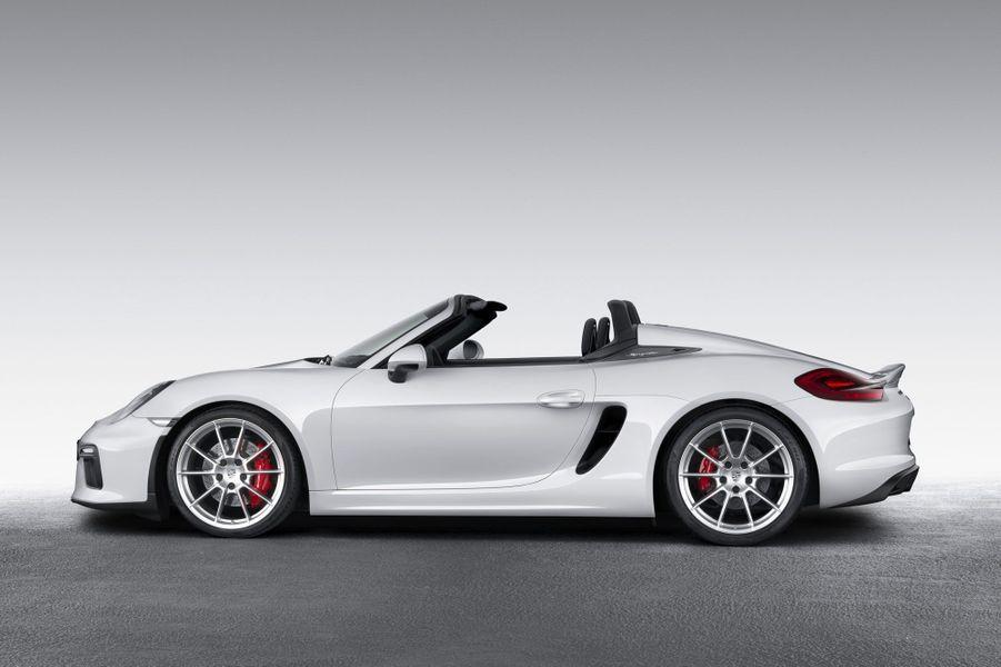 Porsche Boxster Spyder, l'allure et la carrure