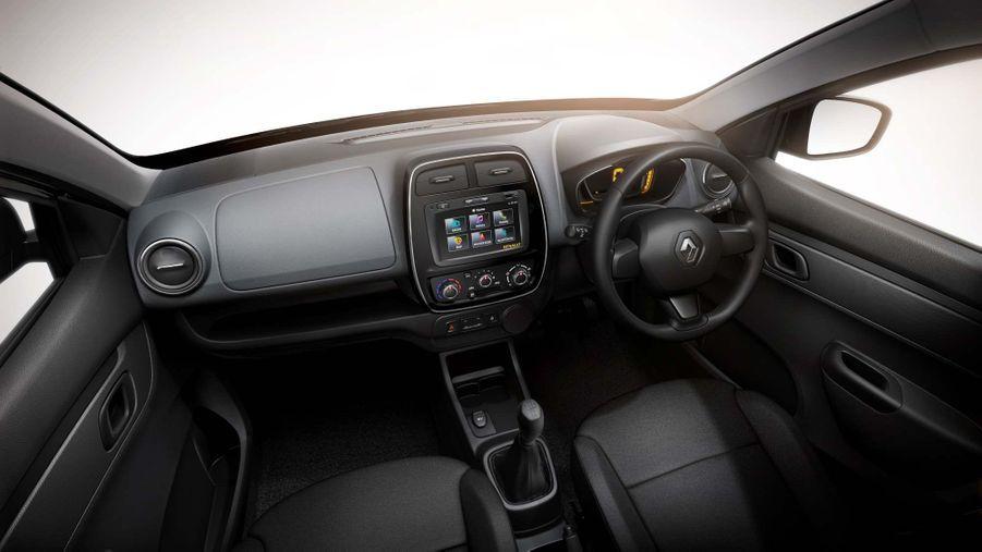 Intérieur de la Renault Kwid