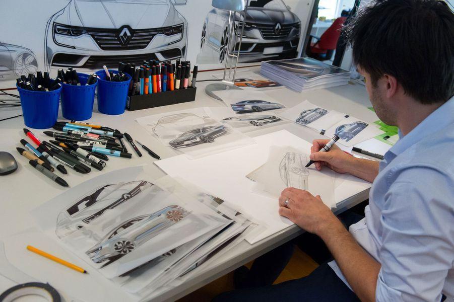 Alexis Martot au travail