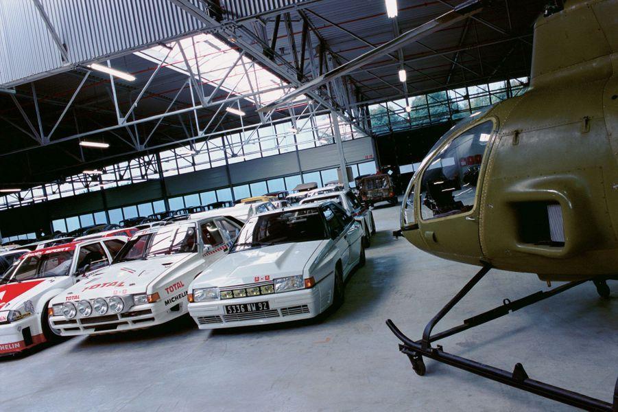 Ce lieu, inauguré en 2001, retrace toute l'aventure industrielle de Citroën. On peut même y voir, aux côtés des BX 4TC, monstrueux modèles dédiés au rallye, un hélicoptère. Le RE210 exploite le moteur rotatif apparu temporairement sous le capot de la fameuse GS Birotor, à laquelle le choc pétrolier de 1973 fut fatal.