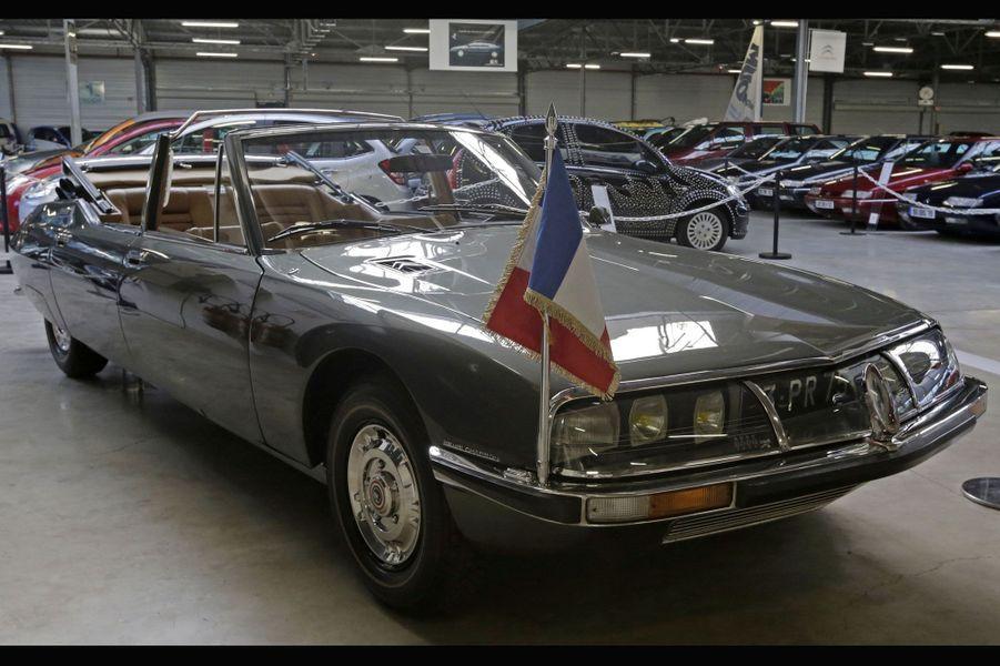 Cette SM présidentielle de 1972 est l'un des joyaux de la collection.