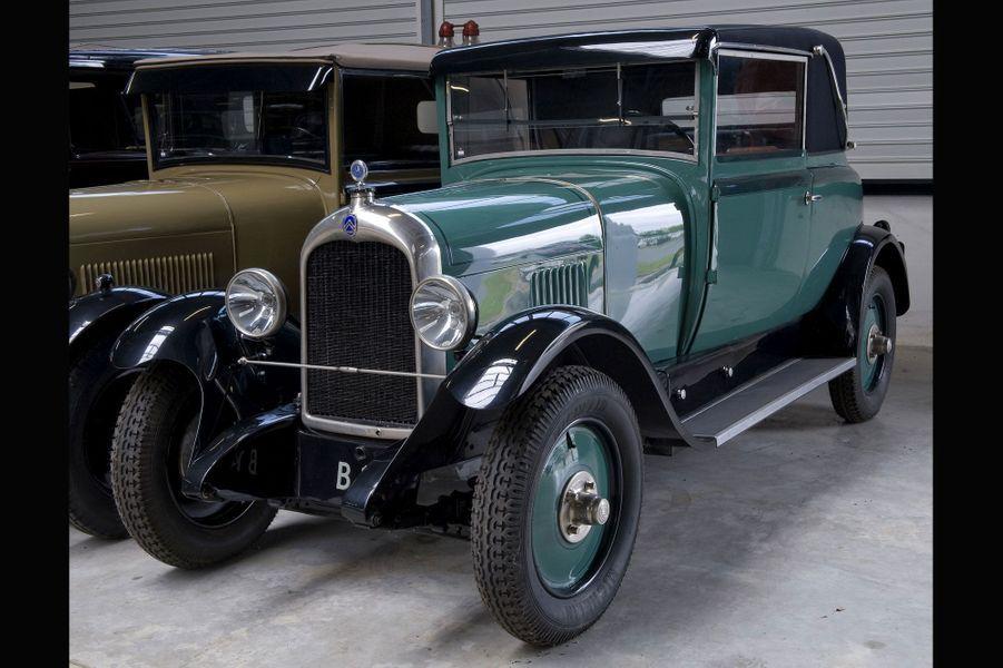 Cette Citroën B14 date de la fin des années 1920.