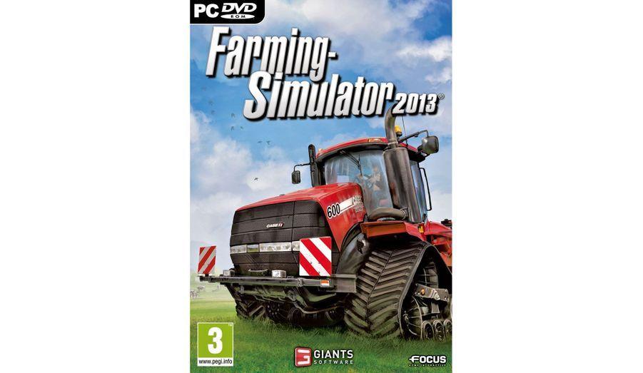 Avec le jeu «Farming Simulator», sur PC uniquement, prenez le volant de tous types d'engins agricoles et faites prospérer votre exploitation. 24,99 euros.